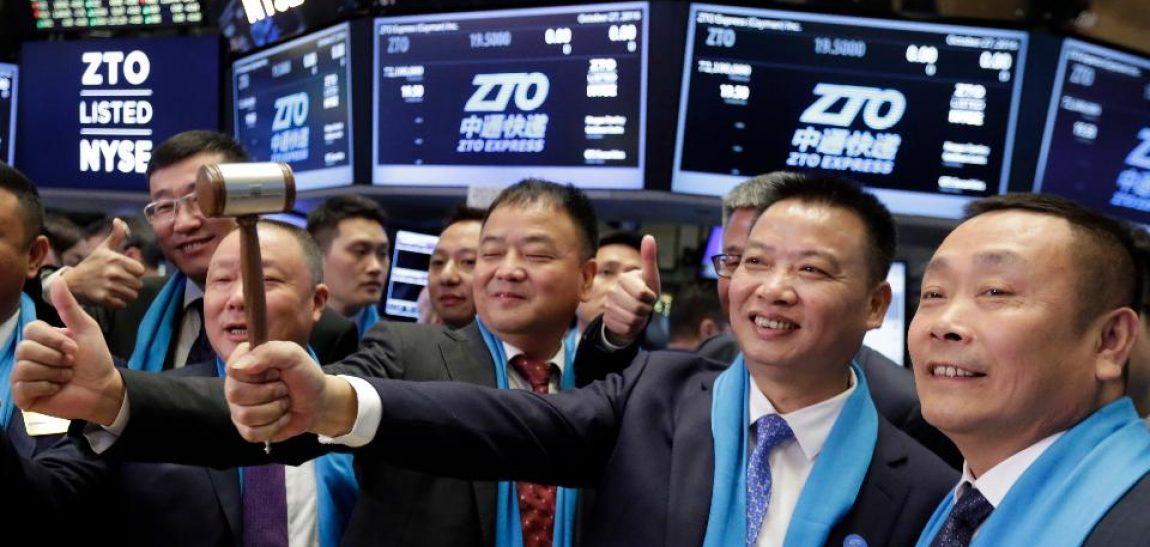 Courier Chinos alcanzarán $72B USD en dividendos este 2017